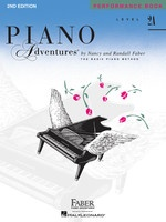 Piano Adventures Level 2A - Performance Book