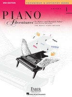 Piano Adventures Level 1 - Technique & Artistry Book