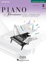 Piano Adventures Level 3B - Lesson Book 2nd Edition