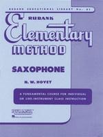 Rubank Elementary Method - Saxophone