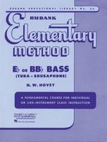 Rubank Elementary Method - Bass/Tuba (B.C.)