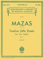 12 Little Duets, Op. 38 Book 1