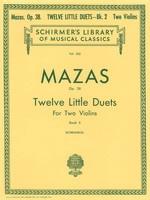 12 Little Duets, Op. 38 Book 2