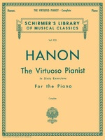 The Virtuoso Pianist in 60 Exercises - Complete
