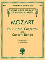 Four Horn Concertos and Concert Rondo