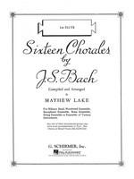 Sixteen Chorales - Clarinet 1 Part