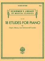18 Etudes for Piano