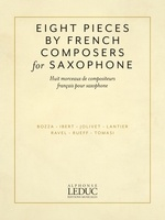 Eight Pieces by French Composers for Saxophone