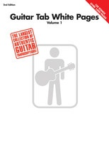 Guitar Tab White Pages Volume 1 - 2nd Edition