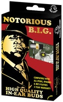 Notorious B.I.G. (Biggy Smalls) - In-Ear Buds