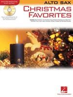 CHRISTMAS FAVORITES FOR ALTO SAX BK/CD