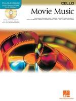 MOVIE MUSIC BK/CD CELLO