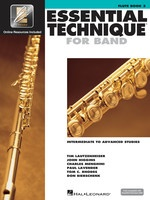 Essential Technique For Band Bk3 Flute Eei