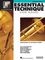 Essential Technique For Band Bk3 Trombone Eei