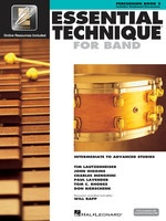 Essential Technique For Band Bk3 Percussion Eei