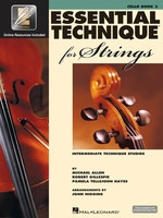 Essential Technique for Strings - Book 3