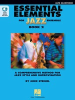 Essential Elements for Jazz Ensemble Book 2 - Alto Sax