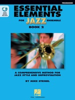 Essential Elements for Jazz Ensemble Book 2 - Trombone