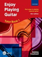 Enjoy Playing Guitar Tutor Book 1 + CD