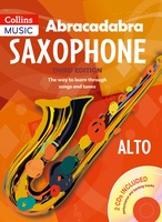 Abracadabra Saxophone - Alto, Book with 2CDs Included