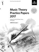 ABRSM Music Theory Practice Papers 2017 - Grade 1