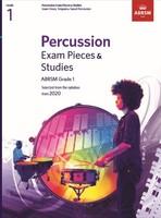 Percussion Exam Pieces & Studies Grade 1