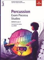 Percussion Exam Pieces & Studies Grade 3
