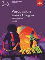 Percussion Scales & Arpeggios Grades 6-8