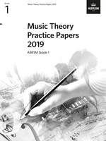 ABRSM Music Theory Practice Papers 2019 Grade 1