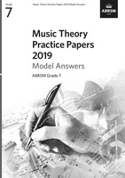 ABRSM Music Theory Model Answers 2019 Grade 7