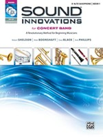 Sound Innovations for Concert Band Book 1 - Alto Saxophone