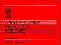 Carl Fischer Practice Record
