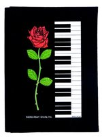 Address Book Keyboard Rose