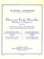200 Etudes for Horn Vol. 6