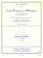 20 Easy Progressive And Melodic Studies Vol 2 Cla