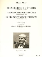 18 Exercises or Studies by Berbiguier