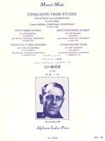 53 Etudes Book 1 after Boehm, Terschak, Furstenau