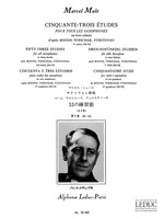 53 Etudes Book 3 after Boehm, Terschak, Furstenau