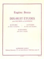 18 Etudes for Oboe or Saxophone