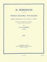 24 Vocalises Trumpet Solos Book