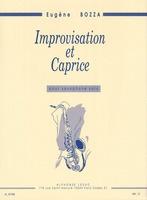 Improvisation et Caprice for Solo Saxophone