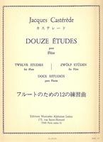 12 Etudes For Flute