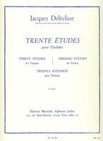 30 Studies for Timpani Vol. 3