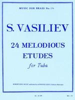 24 Melodious Etudes for Tuba