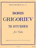 78 Studies for Tuba