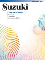 Suzuki Violin School Vol. 1 Violin Part