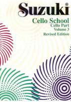 Suzuki Cello School Cello Part, Volume 3 (Revised)
