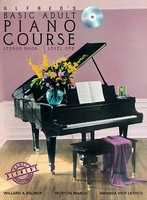 Alfred's Basic Adult Piano Course Lesson Book 1 & CD