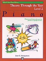 Alfred's Basic Piano Course: Theory Through the Year Book 2