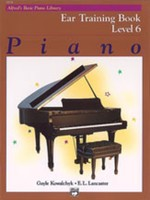 Alfred's Basic Piano Course: Ear Training Book 6